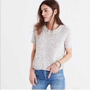 Madewell Short Sleeve Sweater